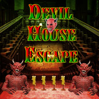 Free online flash games - Abandoned Devil House Escape game - WowEscape