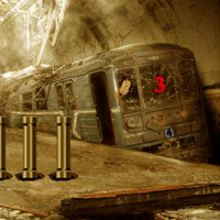 Free online flash games - Abandoned Metro Station Escape game - WowEscape