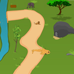 Free online flash games - African Safari Escape game - WowEscape