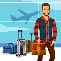 Free online html5 games - Airport Threat Escape game - Games2rule