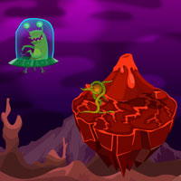 Free online flash games - Alien Planet Escape game - Games2Rule
