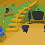 Free online flash games - Aliens Secret House Escape game - WowEscape