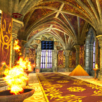 Free online flash games - Alone Castle Escape game - WowEscape