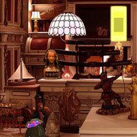 Free online flash games - Antique Historical House Escape game - WowEscape