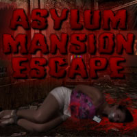Free online flash games - Asylum Mansion Escape game - Games2Rule