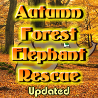 Free online flash games - Autumn Forest Elephant Rescue Updated game - Games2Rule
