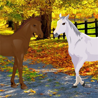 Free online flash games - Autumn Forest Horse Escape game - WowEscape