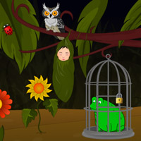 Free online flash games - Baby Fairy Escape game - Games2Rule