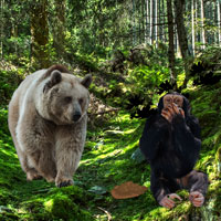 Free online flash games - Bavarian Forest Escape game - Games2Rule