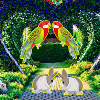 Free online html5 games - Beautiful Love Garden Escape game - Games2rule