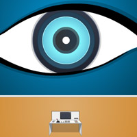 Free online flash games - Big Eye Room Escape game - WowEscape
