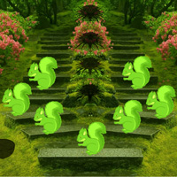 Free online flash games - Big Garden Corner Escape game - WowEscape