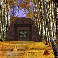 Free online flash games - Birch Forest Escape game - WowEscape