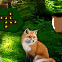 Free online flash games - Blue Eyed Fox Forest Escape game - WowEscape