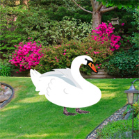 Free online flash games - Botanic Garden Swan Escape game - WowEscape