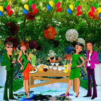 Free online flash games - Buoyant New Year Party Escape game - WowEscape