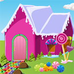 Free online flash games - Candy House Escape game - Escape