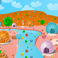Free online flash games - Candy World Escape game - WowEscape