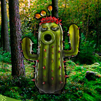 Free online flash games - Carnivorous Plants Forest Escape game - WowEscape