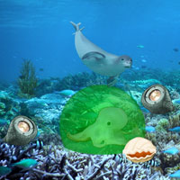 Free online flash games - Casper Underwater Escape game - WowEscape