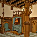 Free online flash games - Castle Bedroom Escape game - WowEscape