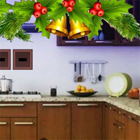 Free online flash games - Christmas Bell House Escape