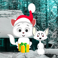 Free online flash games - Christmas Cat and Mouse Fiction Escape game - WowEscape