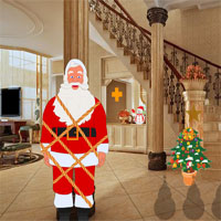 Free online flash games - Christmas House Santa Rescue game - WowEscape