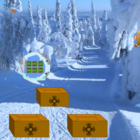 Free online flash games - Christmas Taiga Escape game - WowEscape