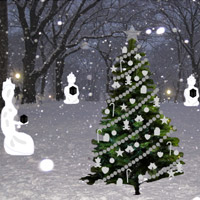 Free online flash games - Christmas Tree Escape game - Games2Rule