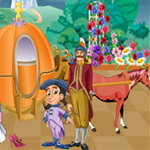Free online flash games - Cinderella Magic Escape game - WowEscape