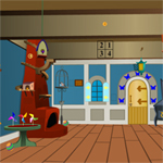 Free online flash games - Comical Room Escape game - WowEscape