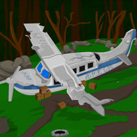 Free online flash games - Crashed Plane Escape game - Games2Rule