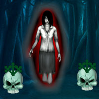 Free online flash games - Creepy Ghost Forest Escape game - WowEscape
