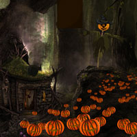 Free online flash games - Creepy Halloween 2015 game - WowEscape