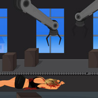 Free online flash games - Crime Story Escape Factory-1 game - WowEscape