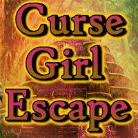 Free online flash games - Curse Girl Escape