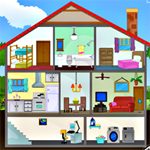 Free online flash games - Cutaway House Escape-3 game - WowEscape