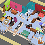 Free online flash games - Cutaway House Escape-4 game - WowEscape