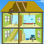 Free online flash games - Cutaway Room Escape 2 game - Escape
