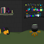 Free online flash games - Cute Girl on Halloween game - WowEscape