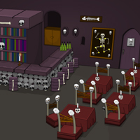 Free online flash games - Deadly Cafe Escape game - WowEscape