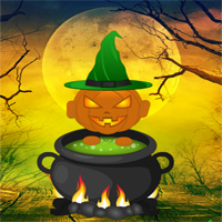 Free online flash games - Deadly Halloween Forest Escape game - WowEscape