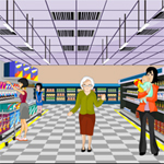 Free online flash games - Departmental Store Escape game - WowEscape