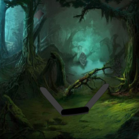 Free online flash games - Devil Forest Escape game - Games2Rule