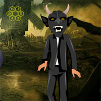 Free online flash games - G2R Devil Man Escape game - WowEscape