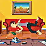 Free online flash games - Re Drunken Room Escape game - Escape