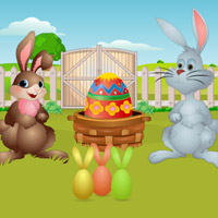 Free online flash games - Easter Bunny 2015 Escape game - Games2Rule
