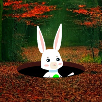 Free online html5 games - Easter Bunny Autumn Forest Escape game - Games2rule