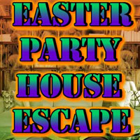 Free online html5 games - Easter Party House Escape game